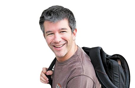 """מנכ""""ל אובר טרוויס קלניק, צילום: בלומברג"""