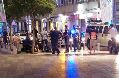 פיגוע מתחם שרונה תל אביב, צילום: ynet