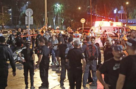 פיגוע מתחם שרונה תל אביב, צילום: איי אף פי