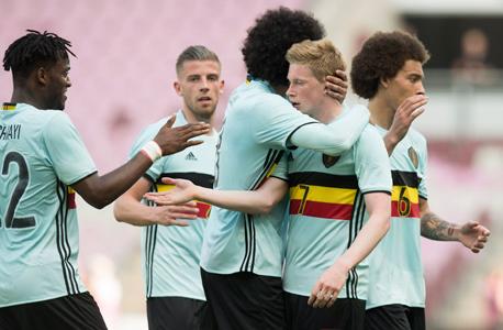 נבחרת בלגיה. משתכרים היטב, צילום: אי פי איי