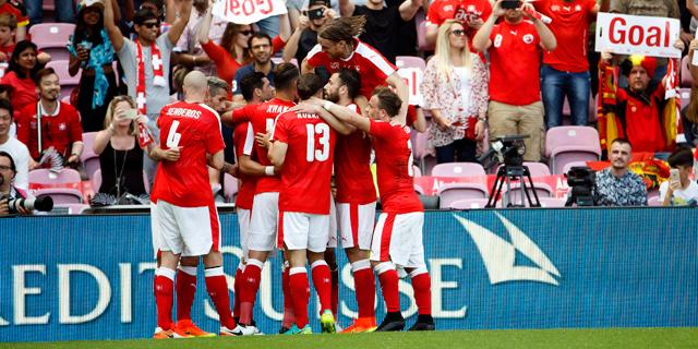 נבחרת שווייץ. משחקים רבים הסתיימו בפשרה, צילום: אי פי איי