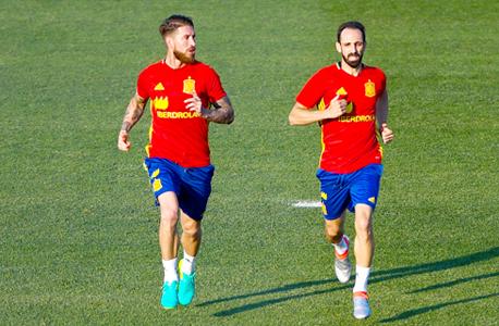 סרחיו ראמוס וחואנפראן מנבחרת ספרד. הכי הרבה נקודות פר משחק, צילום: גטי אימג