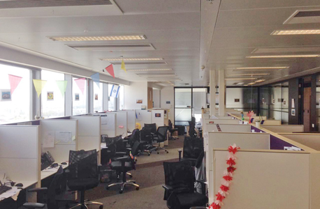 משרדי אקסלנס שביתה עיצומים, צילום: דוברות ההסתדרות
