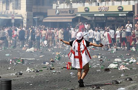 אלימות במארסיי. בעיקר בנמל הישן, צילום: אימג