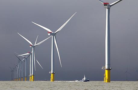 טורבינות רוח בבריטניה (ארכיון) , צילום: בלומברג