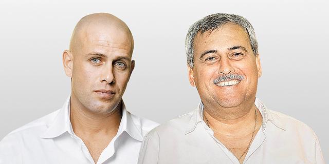 מימין נחום ביתן ו עדי עזרא, צילום: אוראל כהן,