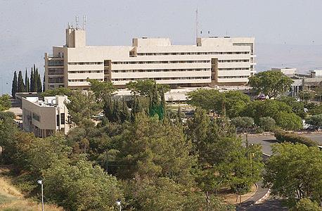 בית חולים זיו בצפת, צילום: אפי שריר