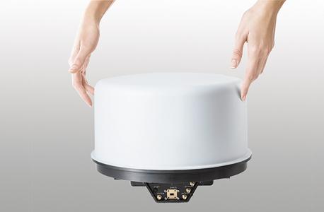 sky beam מוצר חדש של החברה של בני גנץ צלחת לווין, צילום: איה בן עזרי