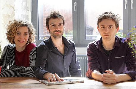 מייסדי אינפארם. מימין: גיא גלונסקה, ארז גלונסקה ואסנת מיכאלי , צילום: Infarm