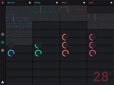Auxy אפליקציה מוזיקה, צילום:  Auxy