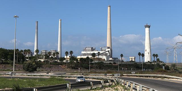 תחנת הכוח של חברת החשמל בחדרה, צילום: אלעד גרשגורן