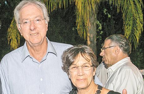 דבי ודניס רוס, צילום: אסף שילה / ישראל סאן