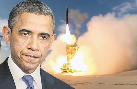 ברק אובמה הגנה מפני טילים בתמונה ניסוי חץ, צילום: אם סי טי, משרד הביטחון