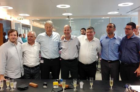 טקס החתימה היום, צילום: עיריית תל אביב