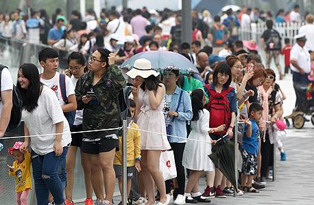 פרק שעשועים דיסני שנגחאי סין פתיחה 2, צילום: אי פי איי