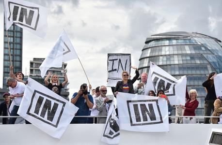 ברקזיט בריטניה האיחוד האירופי משאל עם 1, צילום: איי אף פי