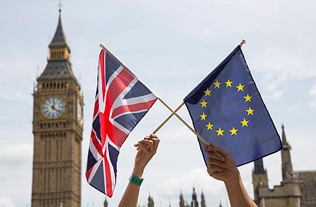 ברקזיט בריטניה האיחוד האירופי משאל עם 2, צילום: אי פי איי