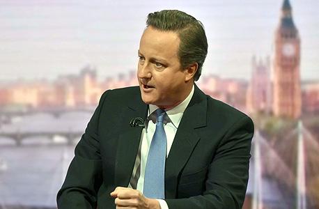 דיוויד קמרון ראש ממשלת בריטניה ברקזיט, צילום: אי פי איי