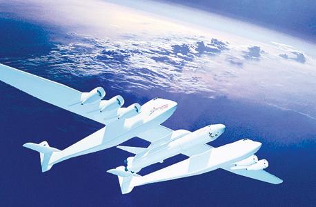 המטוס הגדול בעולם סטארט טו לונץ' מיקרוסופט