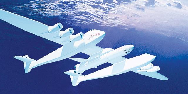 מייסד מיקרוסופט ישגר לוויינים מהמטוס הגדול בעולם