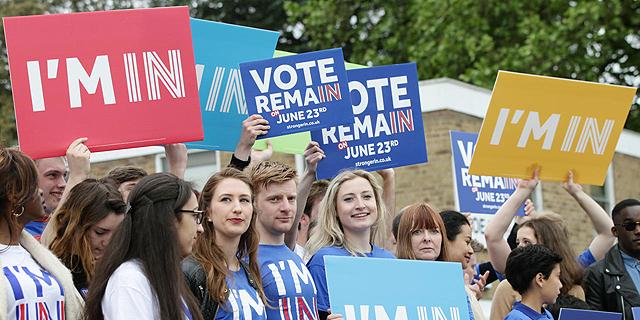 הפגנות בסוגיית הברקזיט בלונדון, צילום: אימג
