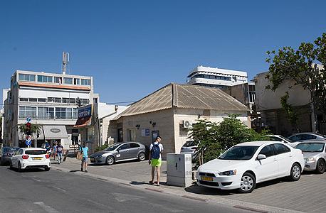 השטח שבו ייבנה הפרויקט ברחוב הושע בתל אביב