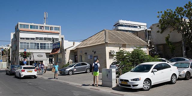 השטח שבו ייבנה הפרויקט ברחוב הושע בתל אביב , צילום: אוראל כהן