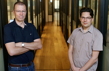 מימין: איילון רשף ועמית בן דב , צילום: עמית שעל