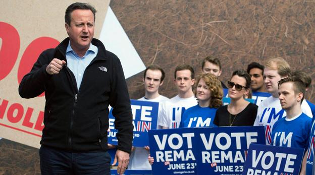 הקרב על עתידה של בריטניה באיחוד האירופי ירד לרחוב