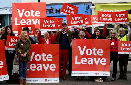 ברקזיט בריטניה האיחוד האירופי משאל עם 5, צילום: בלומברג
