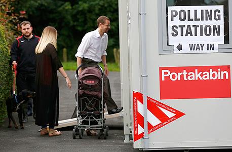 ברקזיט משאל עם בריטניה קלפיות הצבעה 3, צילום: רויטרס