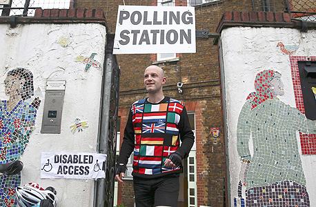 משאל העם בריטניה האיחוד האירופי צפון לונדון, צילום: רויטרס