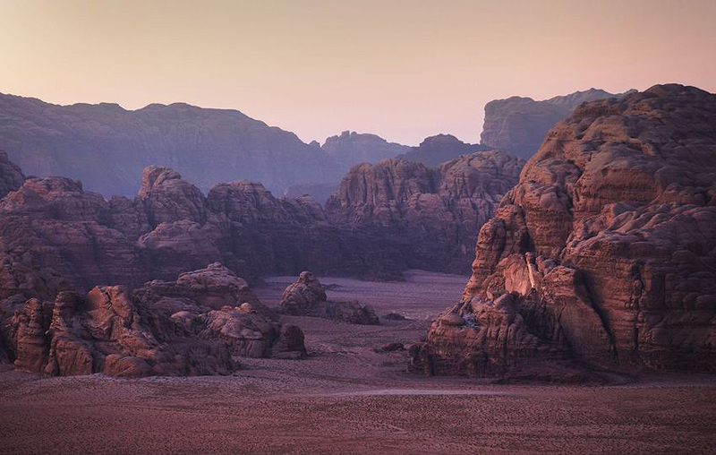 ואדי רם, ירדן. שינויי האקלים מאיימים על האתר התיירותי