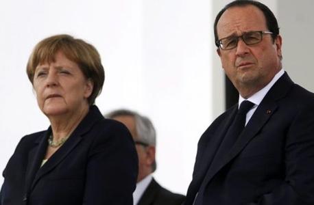 מרקל והולנד מודאגים מתוצאות המשאל בבריטניה