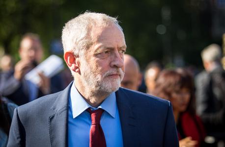 ג'רמי קורבין מנהיג מפלגת העבודה לייבור בריטניה ברקזיט, צילום: גטי אימג'
