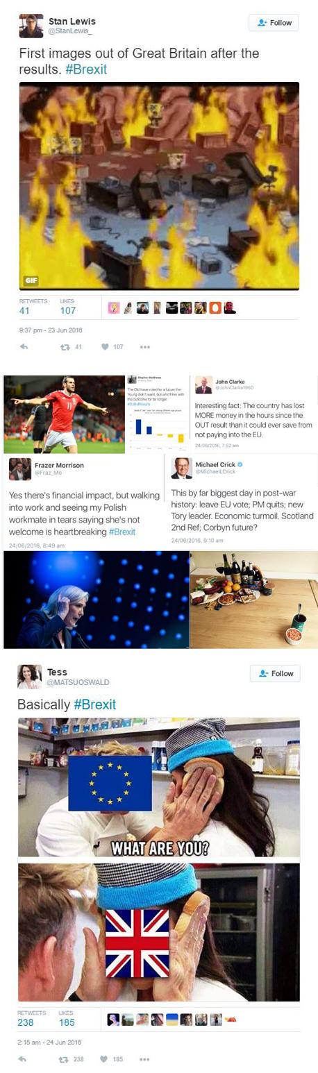 ברקזיט תגובות רשת טוויטר, צילום: טוויטר