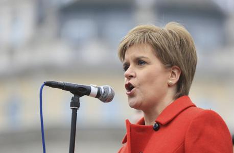 ראש ממשלת סקוטלנד ניקולה סטרג'ן ברקזיט, צילום: רויטרס