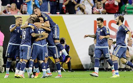 נבחרת ארגנטינה, צילום: איי פי