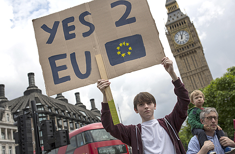 ברקזיט בעד הישארות איחוד אירופי, צילום: גטי אימג'ס