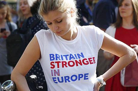 ברקזיט איחוד אירופי בריטניה עצומה תמיכה בהישארות, צילום: רויטרס