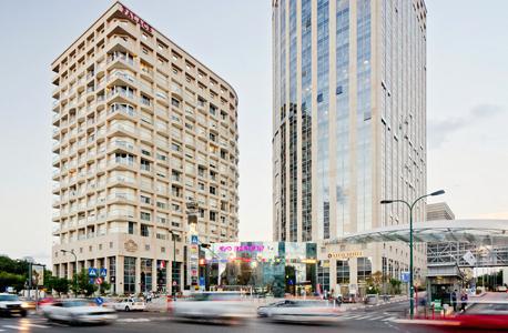 קניון ויצמן סיטי בית חולים איכילוב תל אביב 2, צילום: לם וליץ סטודיו