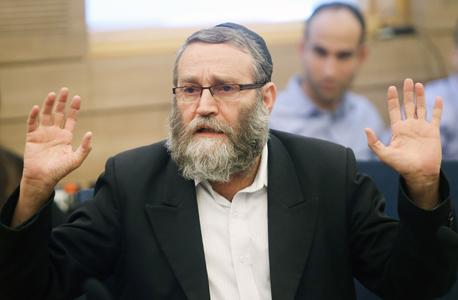 """משה גפני יו""""ר ועדת הכספים, צילום: אלכס קולומויסקי"""