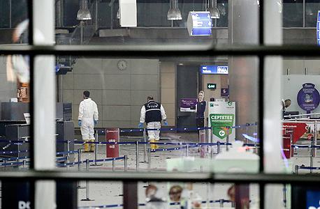 הפיגוע נמל התעופה של איסטנבול לפני חודש, צילום: אי פי איי