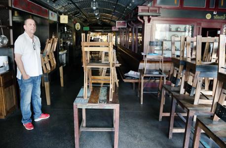 מסעדת טייגר לילי במתחם שרונה שנסגרה הבעלים , צילום: שאול גולן