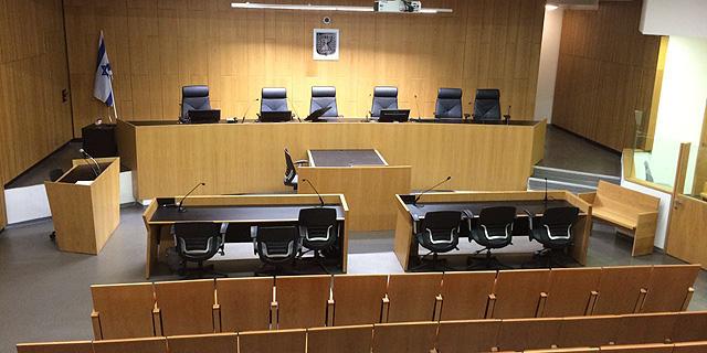 אולם בית משפט. גם המחוקק צריך לעשות חשבון נפש, צילום:  גולן פרידנפלד