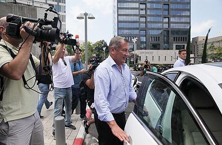 נוחי דנקנר יציאה מ בית המשפט 1, צילום: אוראל כהן