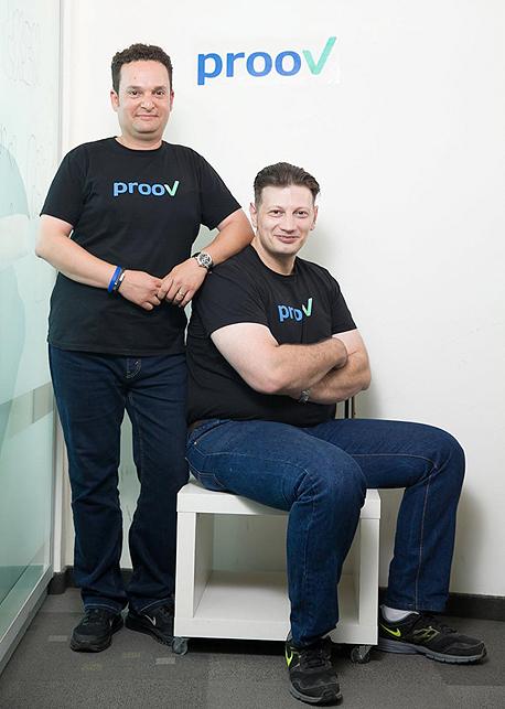 "מימין: מייסדי Proov  אלכסיי ספוז'ניקוב וטובי אולשנצקי. ""בעיה עולמית"""
