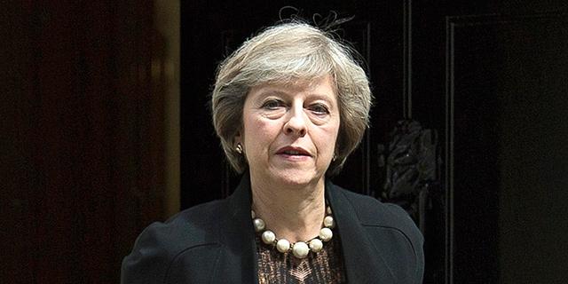 ראשת ממשלת בריטניה תרזה מיי, צילום: אי פי איי