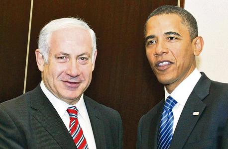 מימין ברק אובמה ו בנימין נתניהו, צילום: גטי אימג'ס
