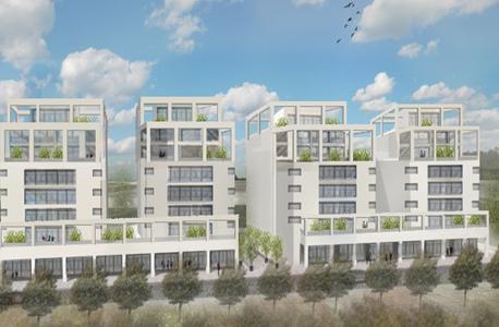 הדמיה של דירות בפרויקט דירה להשכיר במשתלה